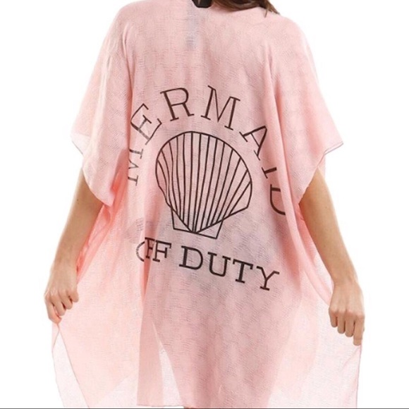 MischkaPu Other - Pink Mermaid Off Duty Cover-up